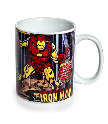 Taza Marvel Comics (Iron Man)