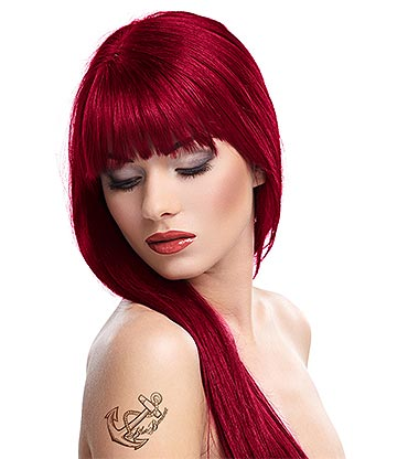 Splat Long Lasting Semi-Permanent Hair Dye Kit 86ml (Crimson Obsession)