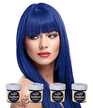 La Riche Directions Colour Hair Dye 4 Pack 88ml (Atlantic Blue)