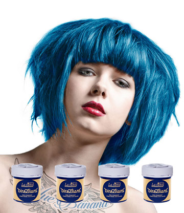 La Riche Directions Colour Hair Dye 4 Pack 88ml (Lagoon Blue)
