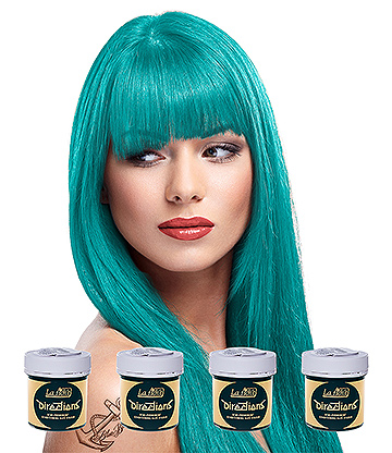 La Riche Directions Colour Hair Dye 4 Pack 88ml (Turquoise)