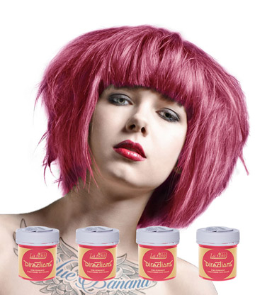 La Riche Directions Colour Hair Dye 4 Pack 88ml (Pastel Pink)