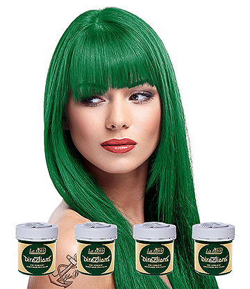 La Riche Directions Colour Hair Dye 4 Pack 88ml (Apple Green)