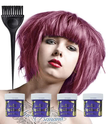 La Riche Directions Colour Hair Dye 4 Pack 88ml (Lavender)