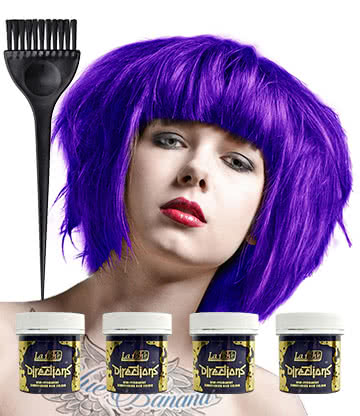 La Riche Directions Colour Hair Dye 4 Pack 88ml (Neon Blue)