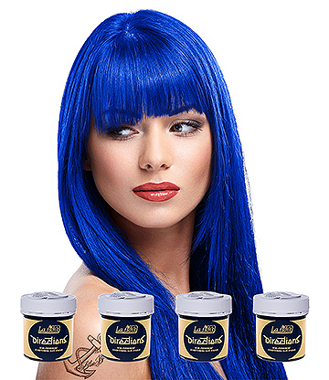 La Riche Directions Colour Hair Dye 4 Pack 88ml (Midnight Blue)