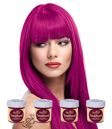 La Riche Directions Colour Hair Dye 4 Pack 88ml (Cerise Pink)