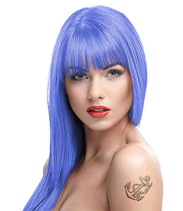 Crazy Color Semi-Permanent Hair Dye 100ml (Lilac)