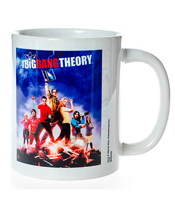 The Big Bang Theory Laptop Mug (Multi-Coloured)