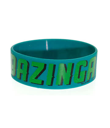 The Big Bang Theory Bazinga Wristband (Green)