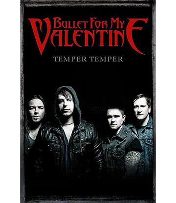 Official Bullet For My Valentine Group Poster
