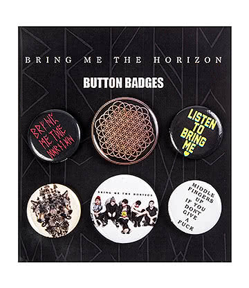 Official Bring Me The Horizon Button Badges