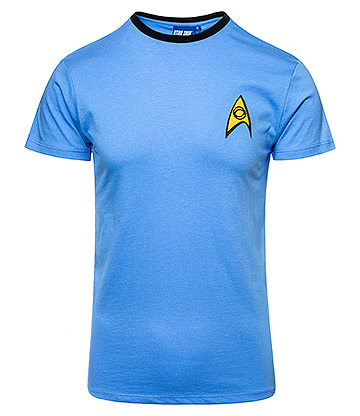 Star Trek Uniform T Shirt (Blue)