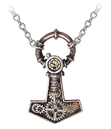 Alchemy Gothic Steamhammer Pendant Necklace