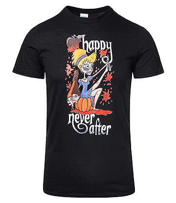 Happy Never After Sinders Bloody T Shirt (Black)