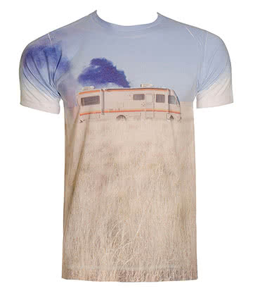 Breaking Bad Trailer T Shirt (Multi-Coloured)