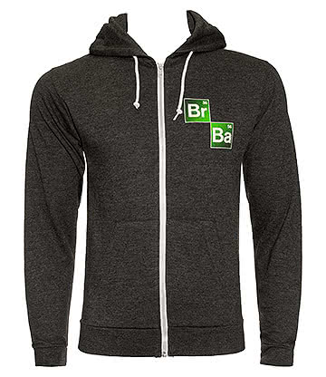 Breaking Bad Logo Hoodie (Charcoal)