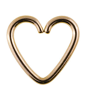 Anello Daith Heart Steel 1.2mm x 1 mm (Oro)