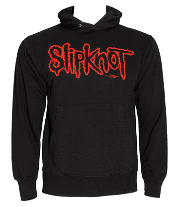 Slipknot Logo Sweat à Capuche (Noir)