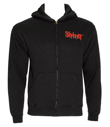 Slipknot Skull Teeth Kapuzenshirt (Schwarz)