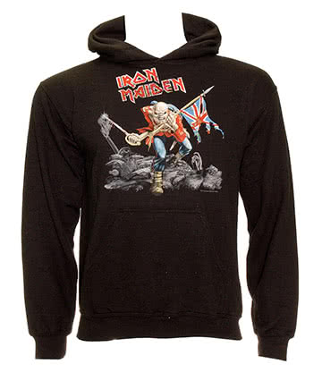 Official Iron Maiden Trooper Hoodie (Black)
