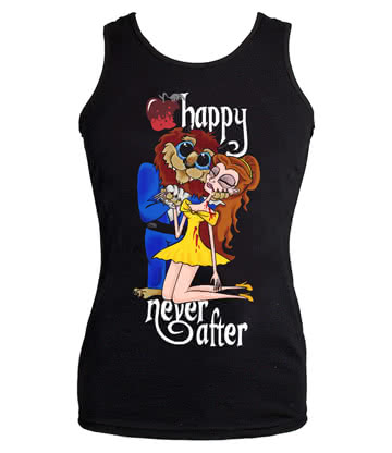Happy Never After Beast Vest Top (Black)