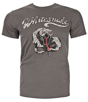 Official Whitesnake Noise T Shirt (Grey)