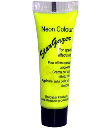 Stargazer Special Effects Face & Body Paint 10ml (Yellow)