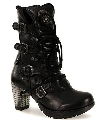 New Rock Boots Style TR003 (Black)