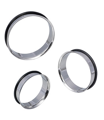 Blue Banana XL Tunnels O Ring Steel (38-48mm)