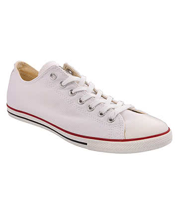 Converse All Star Lean Shoes (White)