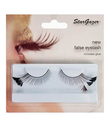 Stargazer Triangle False Eyelashes (Black)