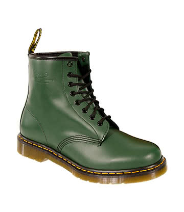 Dr Martens 1460 Smooth Boots (Green)