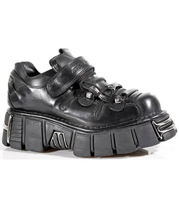 New Rock Style M.131-S1 Shoes (Black)