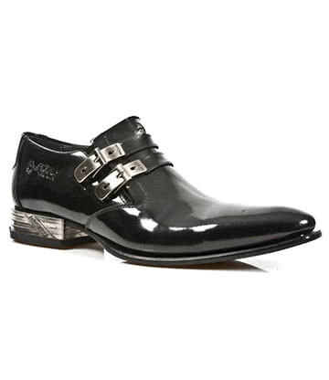 New Rock M.2246-S5 VIP Shoes (Black)