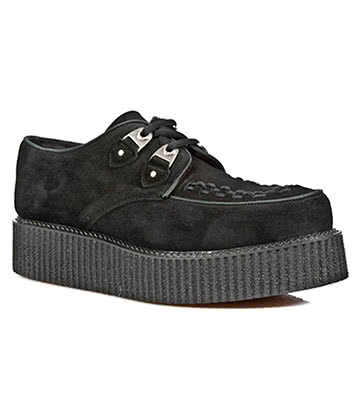 New Rock M.2415-C3 Creepers Platform Shoes (Black)