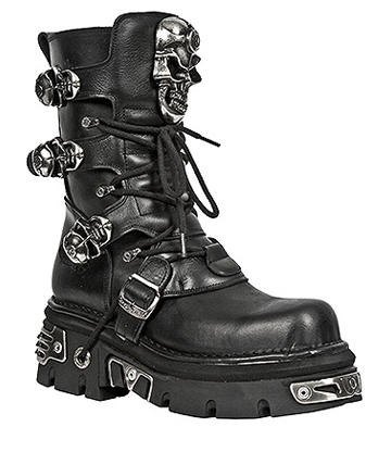 New Rock M.375-S1 Reactor Half Boots (Black)