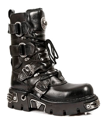 New Rock M.575-S1 Reactor Half Boots (Black)