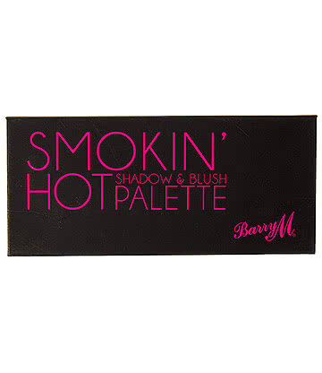 Barry M Smokin' Hot Eyeshadow & Blusher Palette