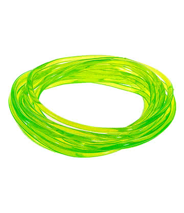 Blue Banana Pack Of 12 Gummy Bracelets Gomme (Vert)