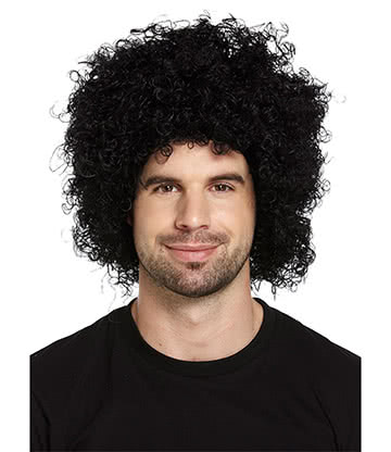 Blue Banana Afro Perruque (Noir)