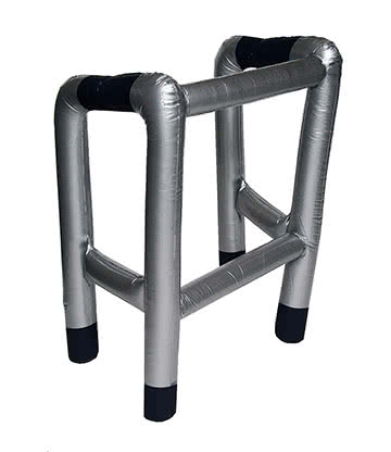 Blue Banana Inflatable Frame (Silver)