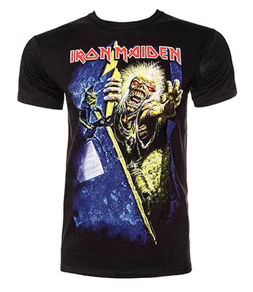 Official Iron Maiden No Prayer T Shirt (Black)