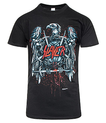 Official Slayer Ammunition T Shirt (Black)