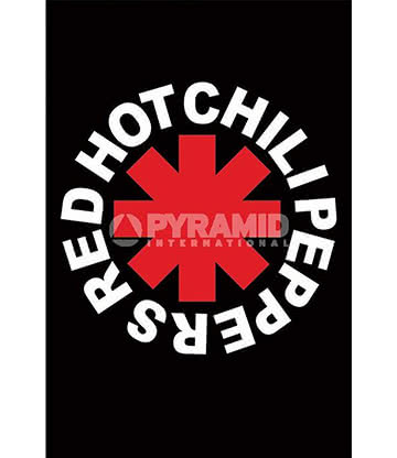 Red Hot Chili Peppers Logo Poster - Affiche