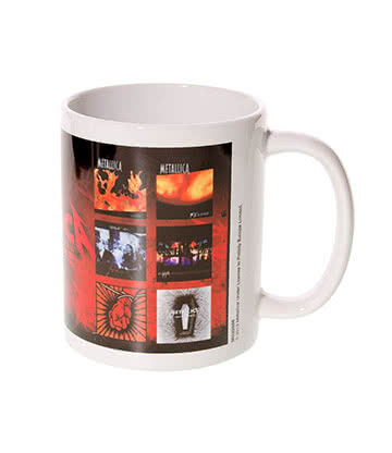 Official Metallica Albums Mug