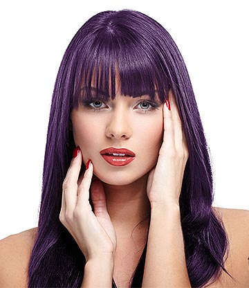 Manic Panic High Voltage Classic Cream Formula Colour Hair Dye 118ml (Deep Purple Dream)