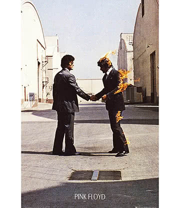Official Pink Floyd Wish You Were Here Poster