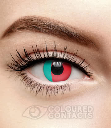 Novelty Flag 90 Day Coloured Contact Lenses (Portugal)