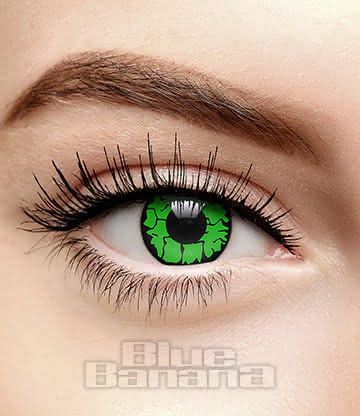 Goblin Eye 90 Day Coloured Contact Lenses (Green)